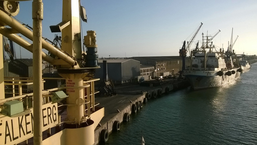 Namibia vessel project